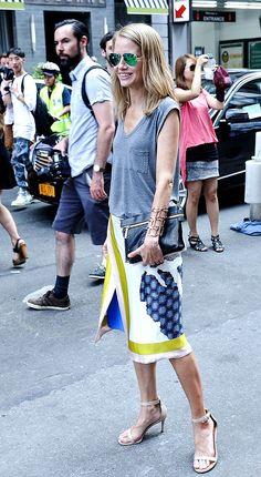 Street style New York Fashion Week primavera verano 2014 Nueva York Gran Manzana