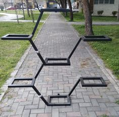 Metal Plant Stand , Funcional Flower Stand, Flower pot Holder (Made to Order) - Cool Welding Project Ideas for Home Diy Welding, Metal Welding, Welding Tools, Diy Tools, Welding Design, Welding Shop, Welding Crafts, Metal Projects, Welding Projects