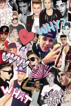 justin bieber tumblr collage - Buscar con Google