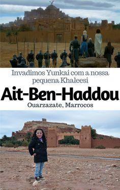 Uma viagem bate-e-volta de Marrakech em #Marrocos para a cidade de #Aït-Ben-Haddou em #Ouarzazate onde visitamos sua fortaleza, declarada Patrimônio Mundial da UNESCO, e cenário de filmes como #Gladiador, Lawrence da Arábia e até #GameofThrones.