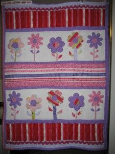 Stripes & Flowers, Flower Quilt