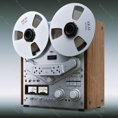 Reel to reel tape recorder - Akai. Their most handsome deck.