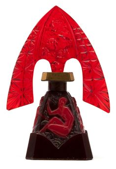 art deco perfume bottle.