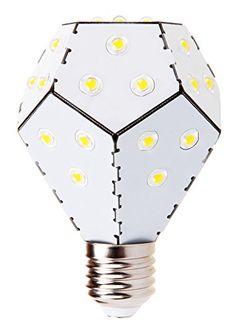 Nanoleaf One LED Lampe ersetzt 75 Watt E27 Birne, 10W 1200 Lumen 3000K warmweiß 360° 230V Weiß, nicht dimmbar: €29,99 #nanoleaf #bulbs #led #lampen #glühbirnen #produkte #einrichtung