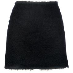 Simone Rocha Mohair Mini Skirt ($330) ❤ liked on Polyvore featuring skirts, mini skirts, clothes / skirts, simone rocha, short mini skirts, simone rocha skirt, mini skirt and short skirts