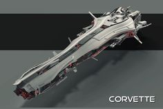 """Ship from """"Barons of the Galaxy"""""""