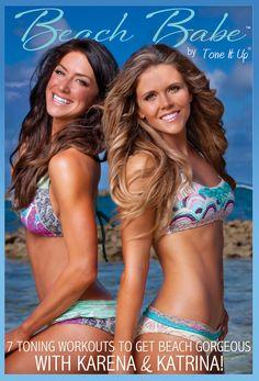 Beach Babe - Tone It Up...always love their hair