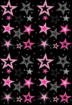 Pink and gray stars