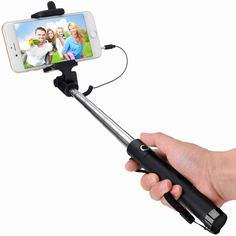 Find More Selfie Sticks Information about Selfie Stick Monopods Wired Self portrait stick Foldable and Extendable Self Stick for iPhone6 6s 6plus 5s SE 5C 5 Samsung S7 S6,High Quality stick curling,China stick brown Suppliers, Cheap stick bike from Neuss Store on Aliexpress.com