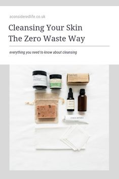 Cleansing, The Zero Waste Way - Marci Bingham - Cleansing, The Zero Waste Way Cleansing, The Zero Waste Way - Waste Solutions, Homemade Cleaning Products, Plastic Waste, Skin Care Treatments, Cleansing Oil, Diy Skin Care, Facial Cleanser, Zero Waste, Make Up