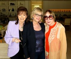 With Laura Lizer and Shirley MacLaine