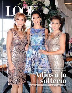 LOOK Monterrey, 23 de octubre 2014.   En portada, Mónica Estrada disfruta su despedida de soltera.