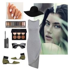 •• | Grey•Black•Green• BEAUTY | •• by amour24xo on Polyvore featuring polyvore, fashion, style, megumi ochi, Monki, Urban Decay, NARS Cosmetics and Anastasia Beverly Hills