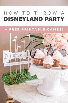 Disneyland Birthday, Disneyland Food, Vintage Disneyland, Disney Birthday, Birthday Party Themes, Disney Theme, Disney Fun, Disney Movies, 3rd Birthday