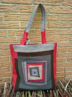 """""""Ogginelle""""    Ideen aus Stoff: Patchwork Einkaufstasche"""