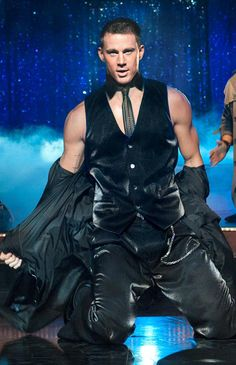 Channing Tatum shows his fun stripper past in #MagicMike with #MattBomer & #JoeManganiello
