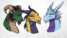 The Old Guardians by DragonOfIceAndFire.deviantart.com on @DeviantArt