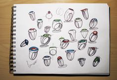 Various ring sketches