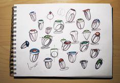 Various ring sketches