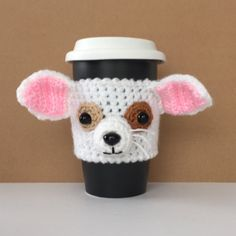 Chihuahua Cozy - Chihuahua Lover Gifts - Pet Mom - Dog Lover Gifts - Dog Mug - Dog Cozy - Pet Mom - Dog Mom - Dog Dad - Hooked by Angel by HookedbyAngel