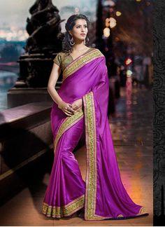 tranquil-designer-zari-work-purple-saree