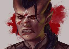 Dragon Age Inquisition Qunari by Naariel
