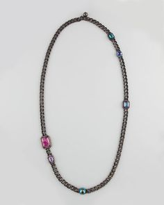 Long Chain Necklace by Lanvin at Neiman Marcus.