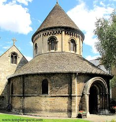 The Church of the Holy Sepulchre is an Anglican church in the city of Cambridge, England, and is known locally as The Round Church. It is one of the four medieval round churches still in use in England. The round shape is popularly associated with the Knights Templar.