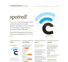 mostly black and white with colored accents - 100+ Clean, Simple and Minimalist Website Designs