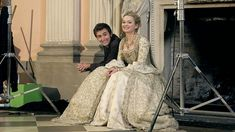 PHOTO OF THE DAY - 9th October 2016:  David Tennant and Sophia Myles on the set of Doctor Who (2005)