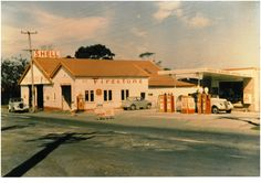 """Yes, Birkenhead used to be """"Auckland's most healthful Marine Suburb.""""  This pic dates a little past that accolade, though when and where I do not know. Date on sign might be 1968. Great orange days."""