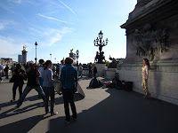 Learning how to be Patriotic, Jounées européennes du patrimoine 2012, Photoshoot Pont Alexandre III