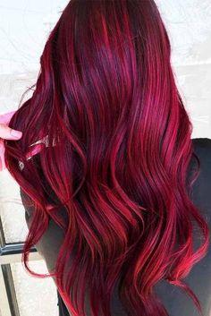 Burgundy hair color shades: wine/ maroon/ burgundy hair dye tips Hair Color Shades, Hair Color Dark, Cool Hair Color, Hair Colors, Burgundy Hair Dye, Dyed Red Hair, Maroon Hair, Burgundy Wine, Burgundy Color