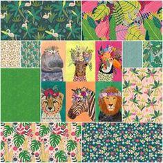 por el Panel /& FQ Studio E /'Unicornio besos/'S Arco Iris//Corazones 100/% tela de algodón