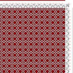 Franz Donat   page 176: figure 3:Large Book of Textile Designs   Germany   c. 1895   4-shaft, 4-treadle