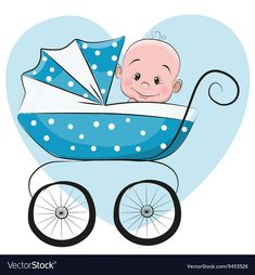 Blue baby stroller sitting PNG and Clipart Cute Baby Boy, 2 Baby, Baby Art, Cute Babies, Clipart Baby, Cartoon Boy, Cute Cartoon, Boy Illustration, Illustrations
