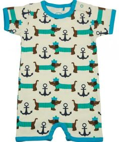 sausage dog romper. Rhett would have been so cute in this!!!