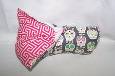 Infant Car Seat ARM PAD, Handle Cover Wrap, Reversible - Monogram Available -  Bone Sugar Skulls/Pink Greek Keys