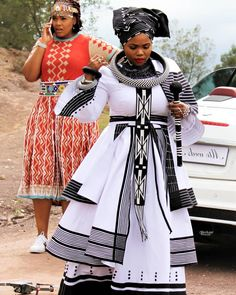 """A capable Wife! South African Traditional Dresses, Traditional Wedding Dresses, Traditional Outfits, Traditional Weddings, African Wedding Attire, African Attire, African Wear, African Print Dresses, African Fashion Dresses"