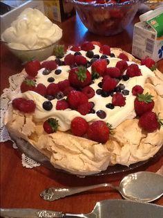 Pavlova, my style. Pavlova, Pie, Pudding, Cakes, Baking, My Style, Desserts, Food, Torte