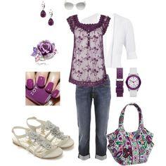 I love purple!, created by jheisterkamp.polyvore.com