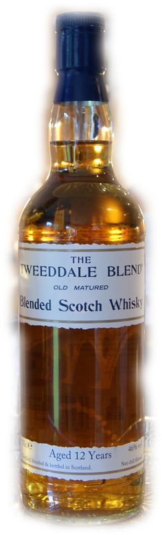 THE TWEEDDALE limited edition small batch blended Scotch Whisky 2nd release. 46% abv & non chill filtered.