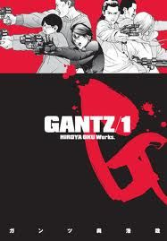 The Active Scrawler: Rosy's scrawled manga recommendation: Gantz by Hiroya Oku. Loved and hated at once. What do you think?