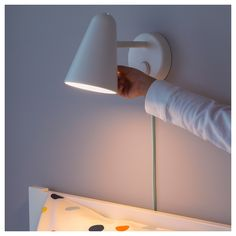 Playfully simple to dim for a cozier light after the bedtime stories. Our children's lighting products go through some of the toughest safety tests in the world so you can be sure your child is safe. Wall Mounted Lamps, Led Wall Lamp, Paint Shades, Kids Lighting, Led Lampe, Incandescent Bulbs, Light Colors, Light Fixtures, Light Bulb