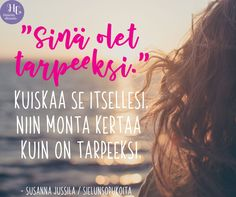 Kenelle sinä haluaisit lähettää nämä sanat? 💖 Löydät runon Sielun sopukoita -päiväkirjasta. #runo #sielunsopukoita #päiväkirja Thoughts And Feelings, Positivity, Motivation, Sayings, Quotes, Life, Hipster Stuff, Studying, Quotations