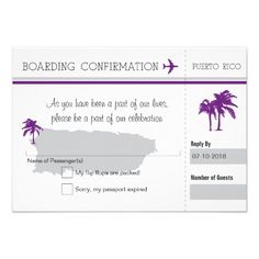 This DealsRSVP Boarding Pass TO Puerto Rico Custom Invitationonline after you search a lot for where to buy