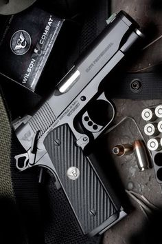 Wilson Combat guns weapons self defense protection protect knifes concealed amendment america 'merica firearms caliber ammo shells ammunition bore bullets munitions Rifles, Colt M1911, Wilson Combat 1911, 1911 Pistol, 1911 Grips, By Any Means Necessary, Fire Powers, Cool Guns, Guns And Ammo