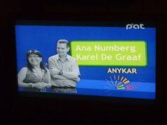 Ana Numberg de De Graaff y Karel  de Graaff - propietarios de Creaciones Anykar en el Spot de Nueva Empresa !!