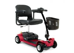 Red Pride Mobility Go Go Ultra X 4 Wheel Travel Scooter with Bonus Features Includes Rear Basket Cup Holder and Weather Cover -- Check out the image by visiting the link. Scooters For Sale, Motor Scooters, Mobility Scooters, Mobiles, 3 Wheel Scooter, Electric Scooter For Kids, 3rd Wheel, Pride, Chairs
