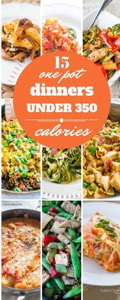15 Best One Pot Dinners Under 350 Calories